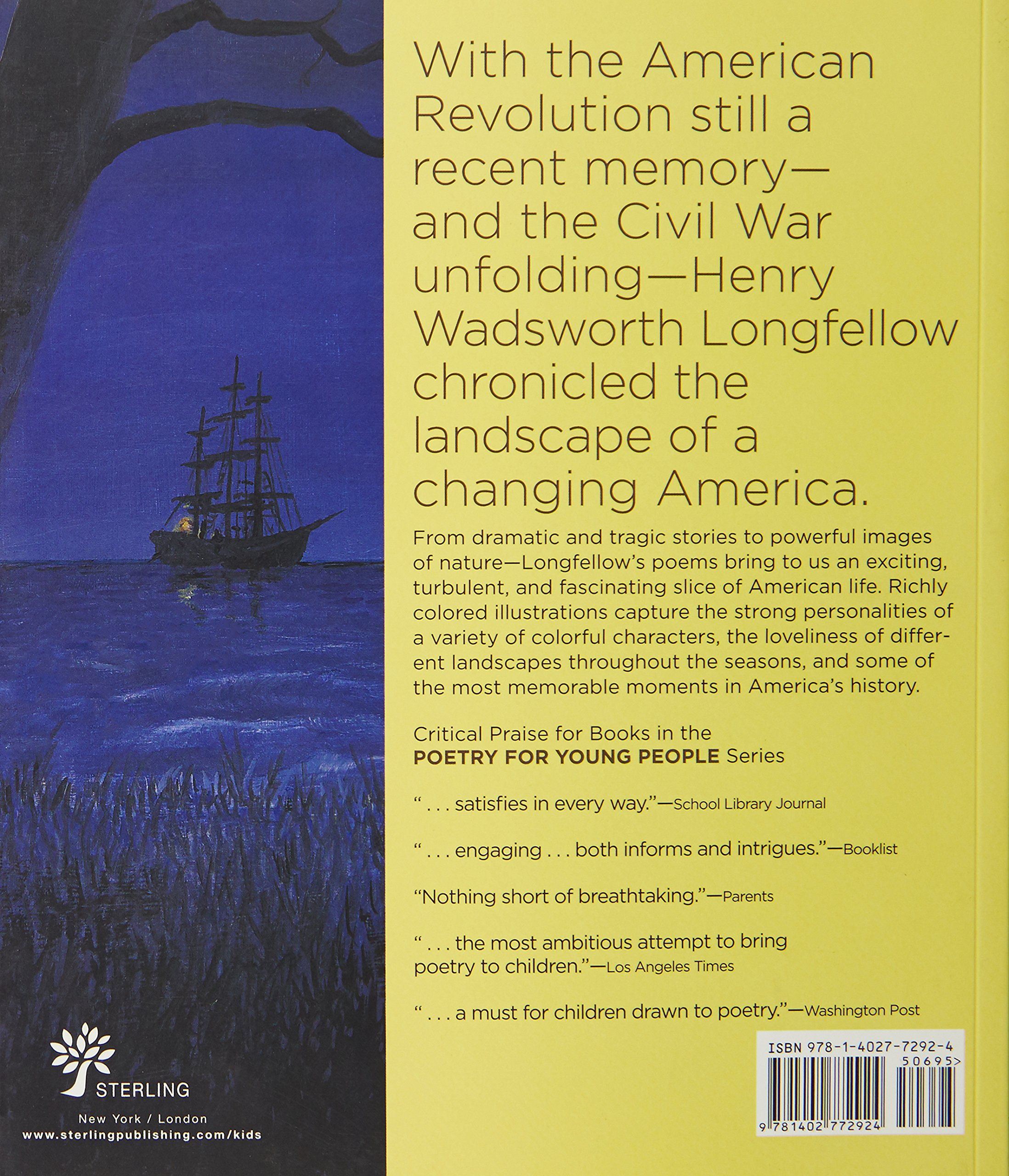 poetry for young people henry wadsworth longfellow s  poetry for young people henry wadsworth longfellow s schoonmaker chad wallace 9781402772924 com books