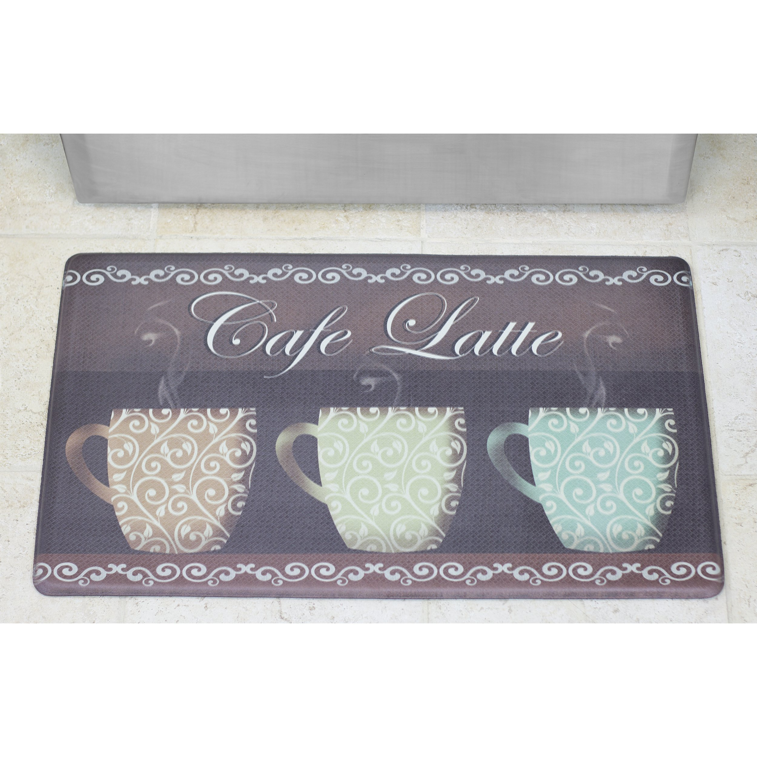 Chef Gear Cafe Latte Anti-Fatigue Comfort Memory Foam 18 x 30'' Kitchen Chef Mat by Chef Gear (Image #2)