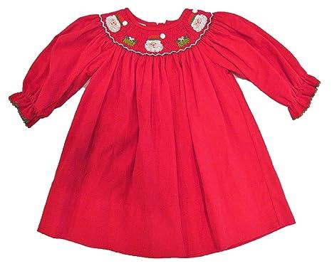 7da9a243651 Amazon.com  Edgehill Collection Baby Girls 12 Months Corduroy Red ...