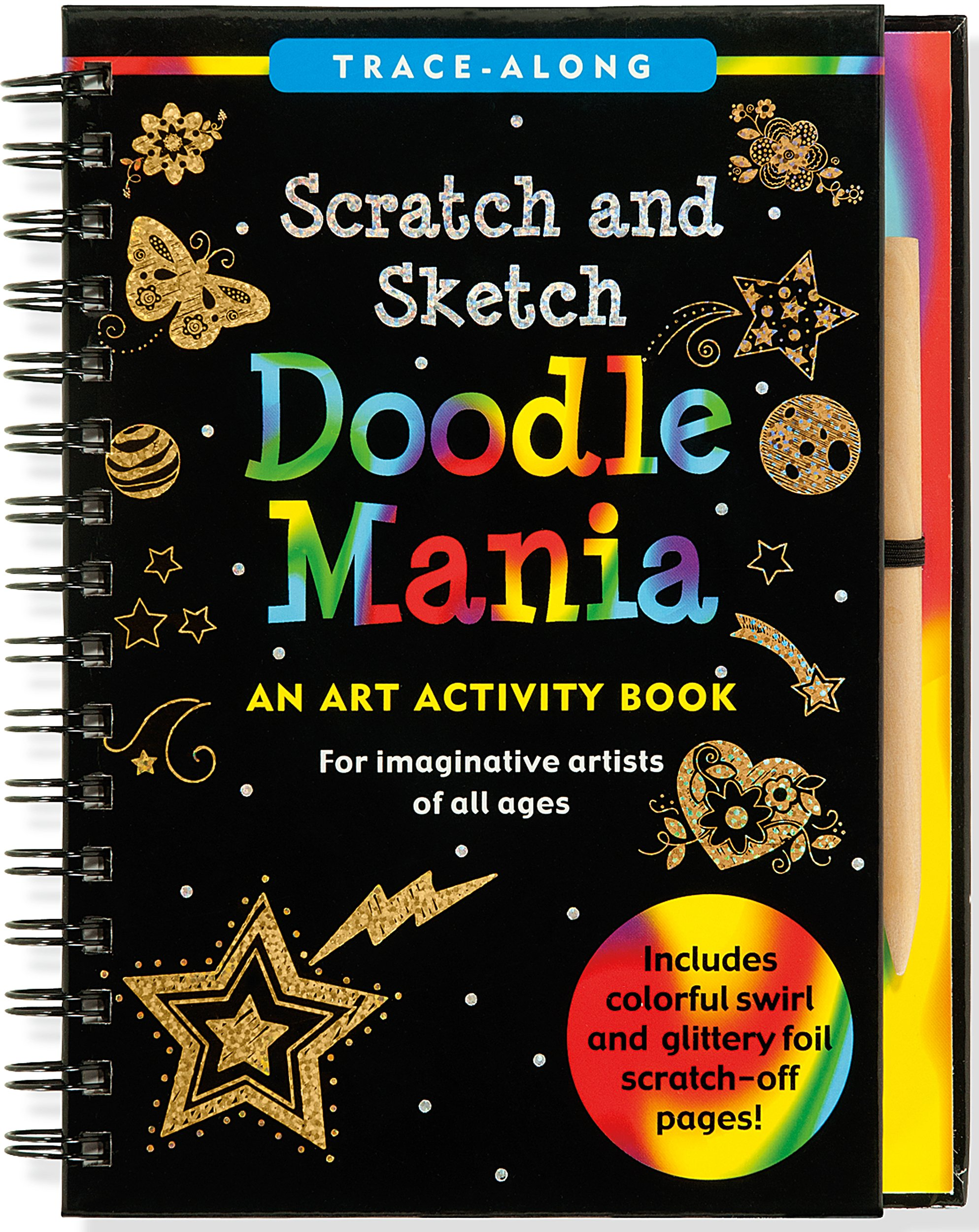 Doodle Mania Scratch & Sketch (Art, Activity Kit) (Trace-Along Scratch and Sketch)