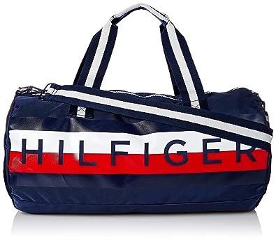 b82a99fe41 Amazon.com: Tommy Hilfiger Mens Duffle Bag Tommy Patriot Colorblock ...