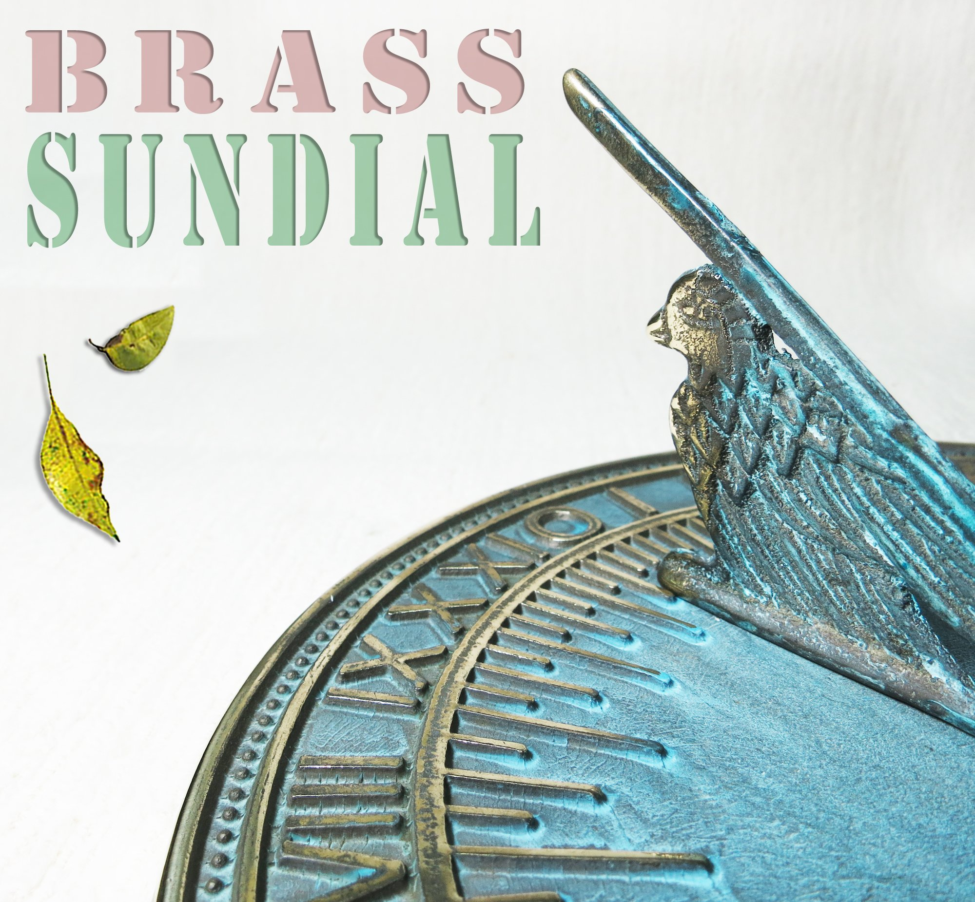 Brass Decorative Turtle Sundial 7'' Inches Wide by Taiwan (Image #7)