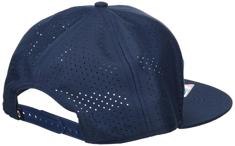 Gorro Snapback Oakley Perf Atomic Azul (Default, Azul): Amazon.es ...
