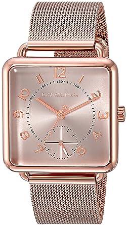 eb292b21b953 Amazon.com  Michael Kors Women s Analog-Quartz Watch with Stainless ...