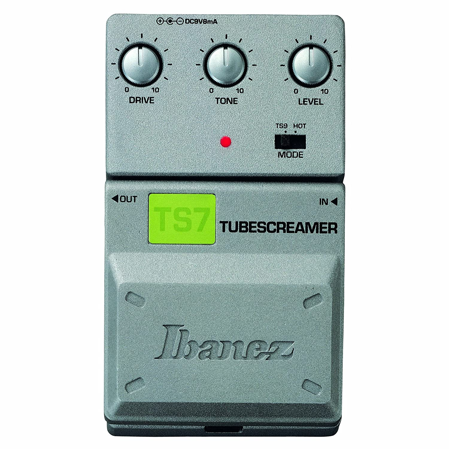 ibanez ts7 tube screamer overdrive electric guitar effects