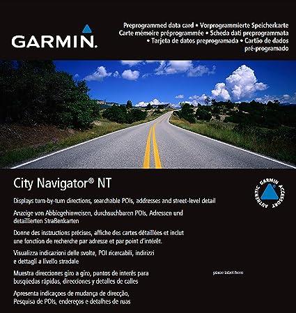 Amazoncom Garmin City Navigator Europe NT UKIreland - Garmin maps for united kingdom