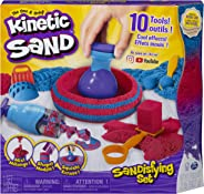 Kinetic Sand, Sandisfying Set with 2lbs of Sand & 10 Tools, for Kids Aged 3 & Up