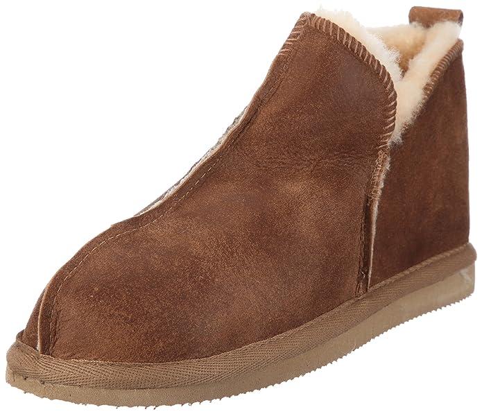 Shepherd Annie - Zapatillas de andar por casa altas para mujer, color Marrón, talla 42 2/3 EU