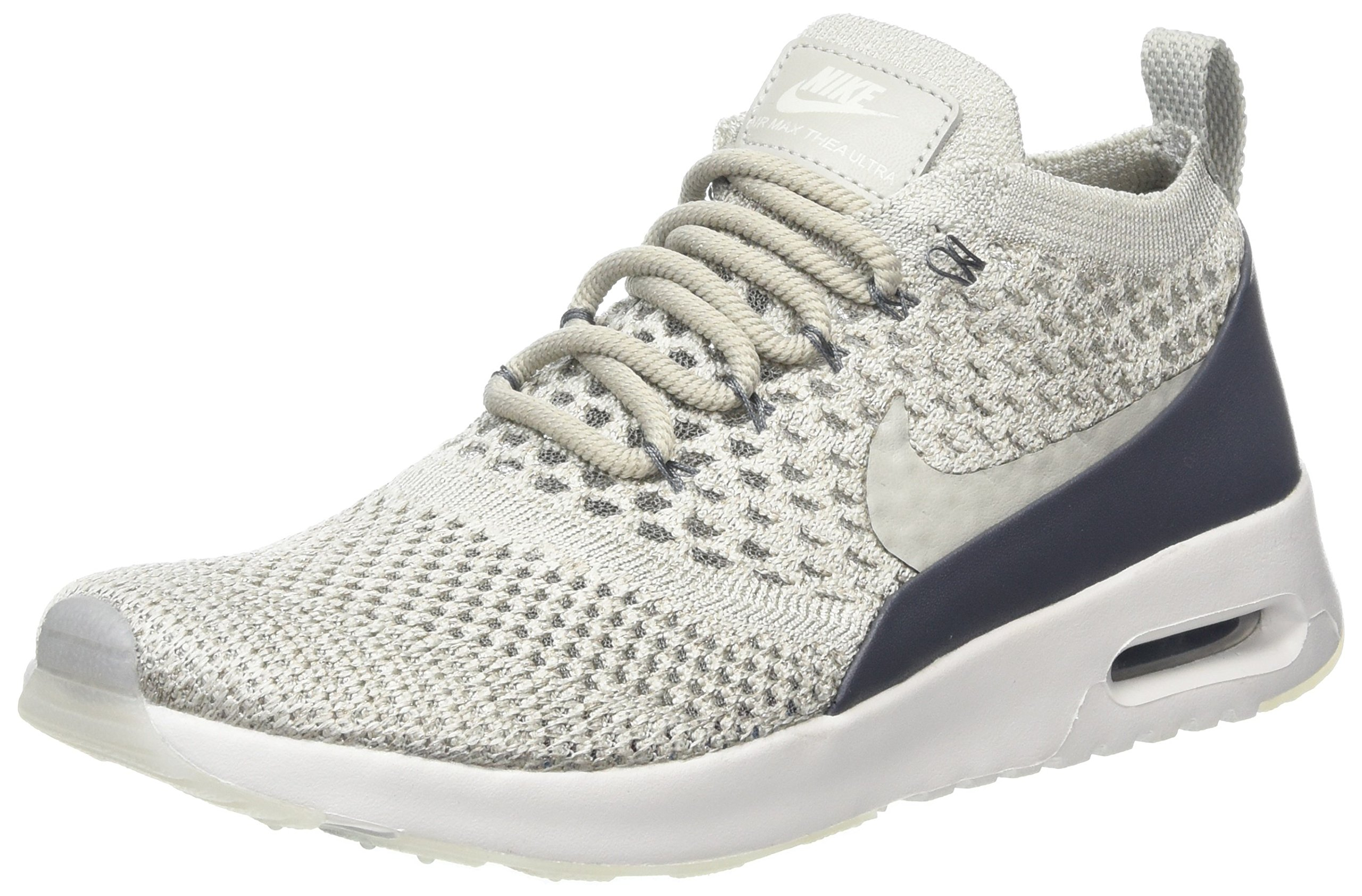 Nike Women's Air Max Thea Ultra Flyknit Trainers, Grey (Pale GeryPale Grey Dark Grey), 3 UK 36 EU