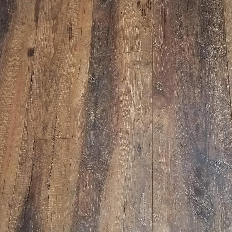 Milltown Rustic Sawmilled Oak Plank Floating Laminate Flooring