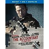 The Accountant (Blu-Ray + DVD + UV Digital Copy) (Bilingual)