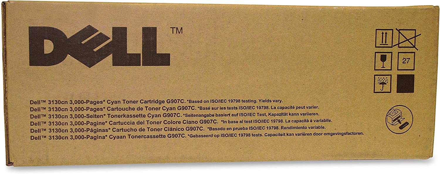 Dell Computer G907C Cyan Toner Cartridge 3130cn/3130cnd Laser Printers