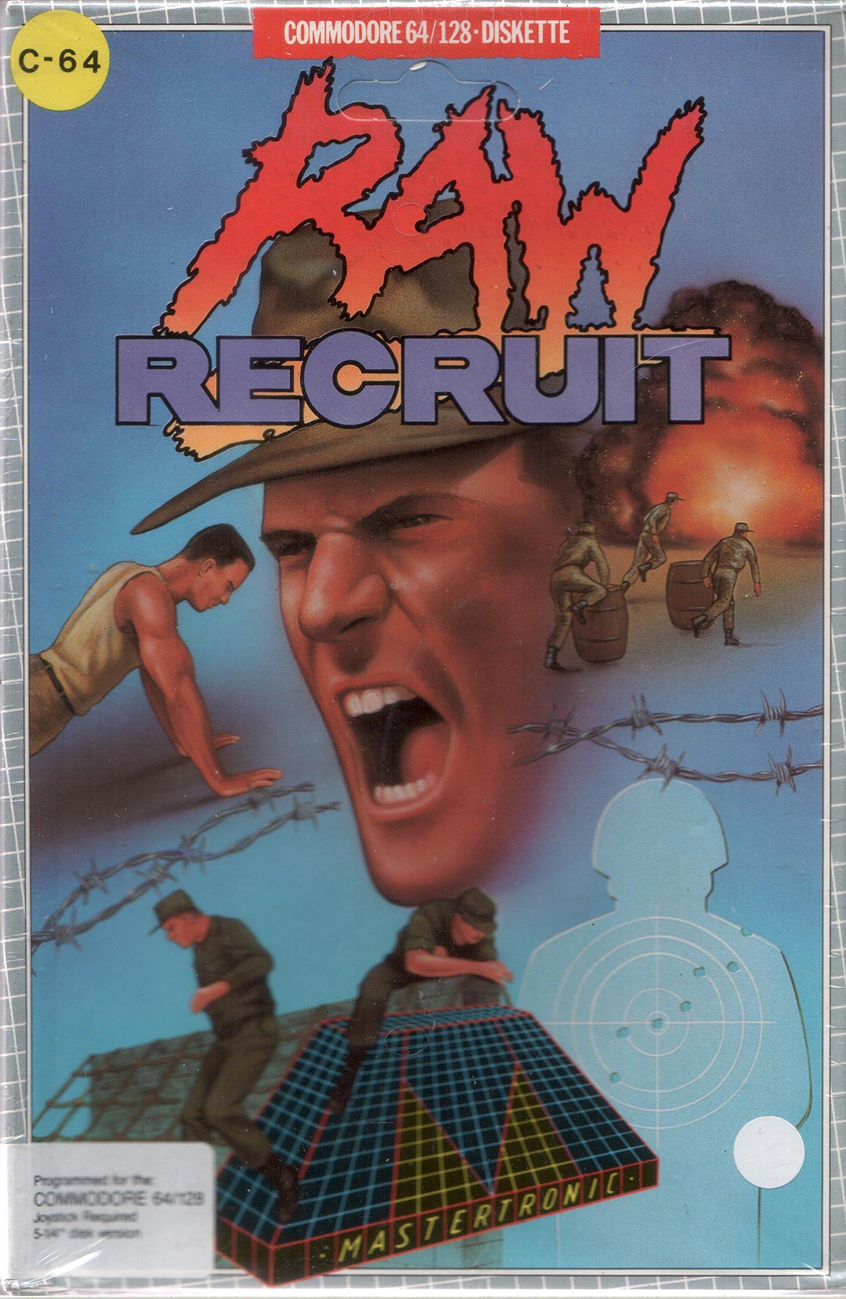 Raw Recruit - Commodore 64