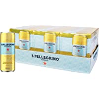 Sanpellegrino Essenza Lemon & Lemon Zest, 24 x 330 mL