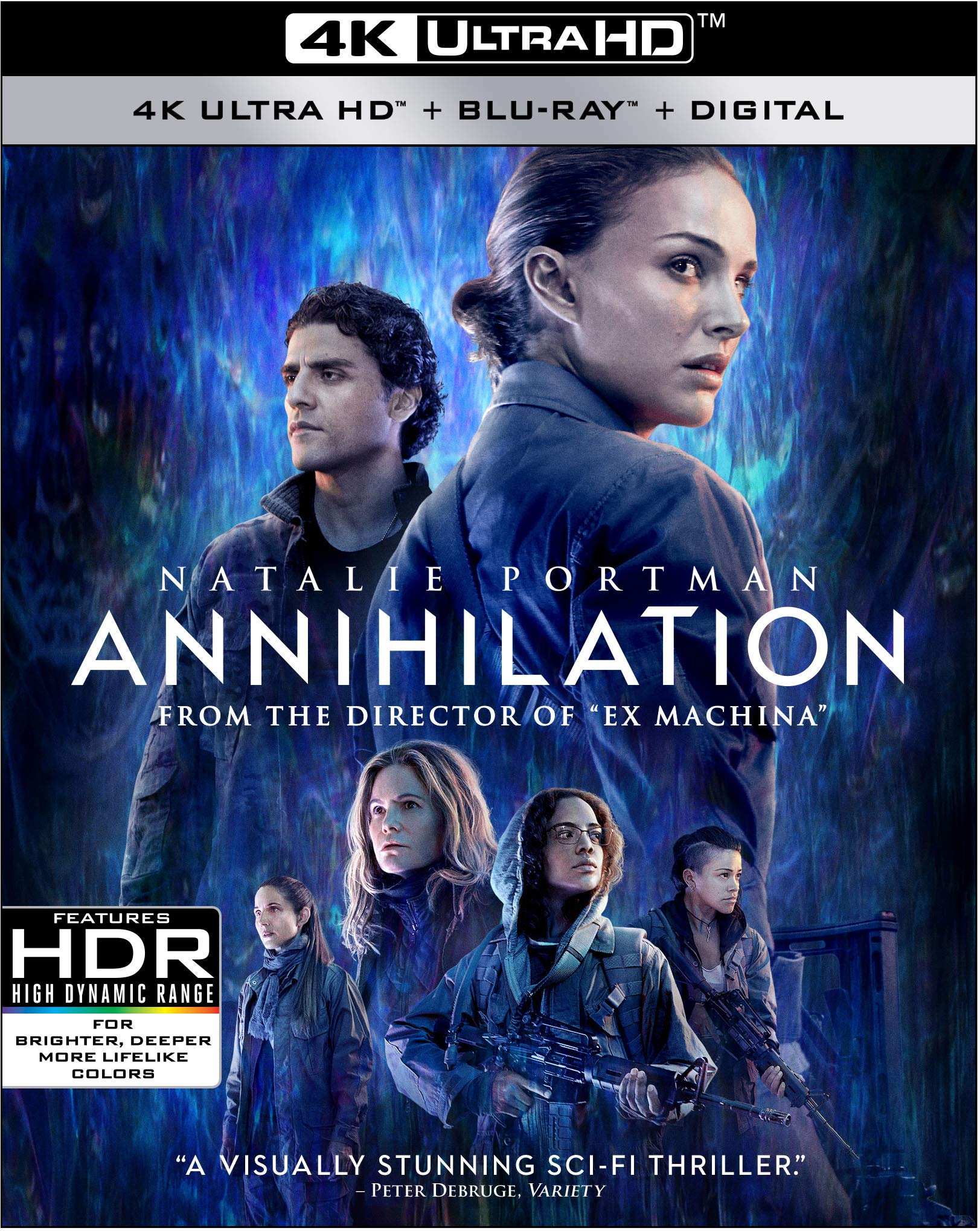 4K Blu-ray : Annihilation (With Blu-ray, 4K Mastering, Widescreen, Amaray Case, Dolby)