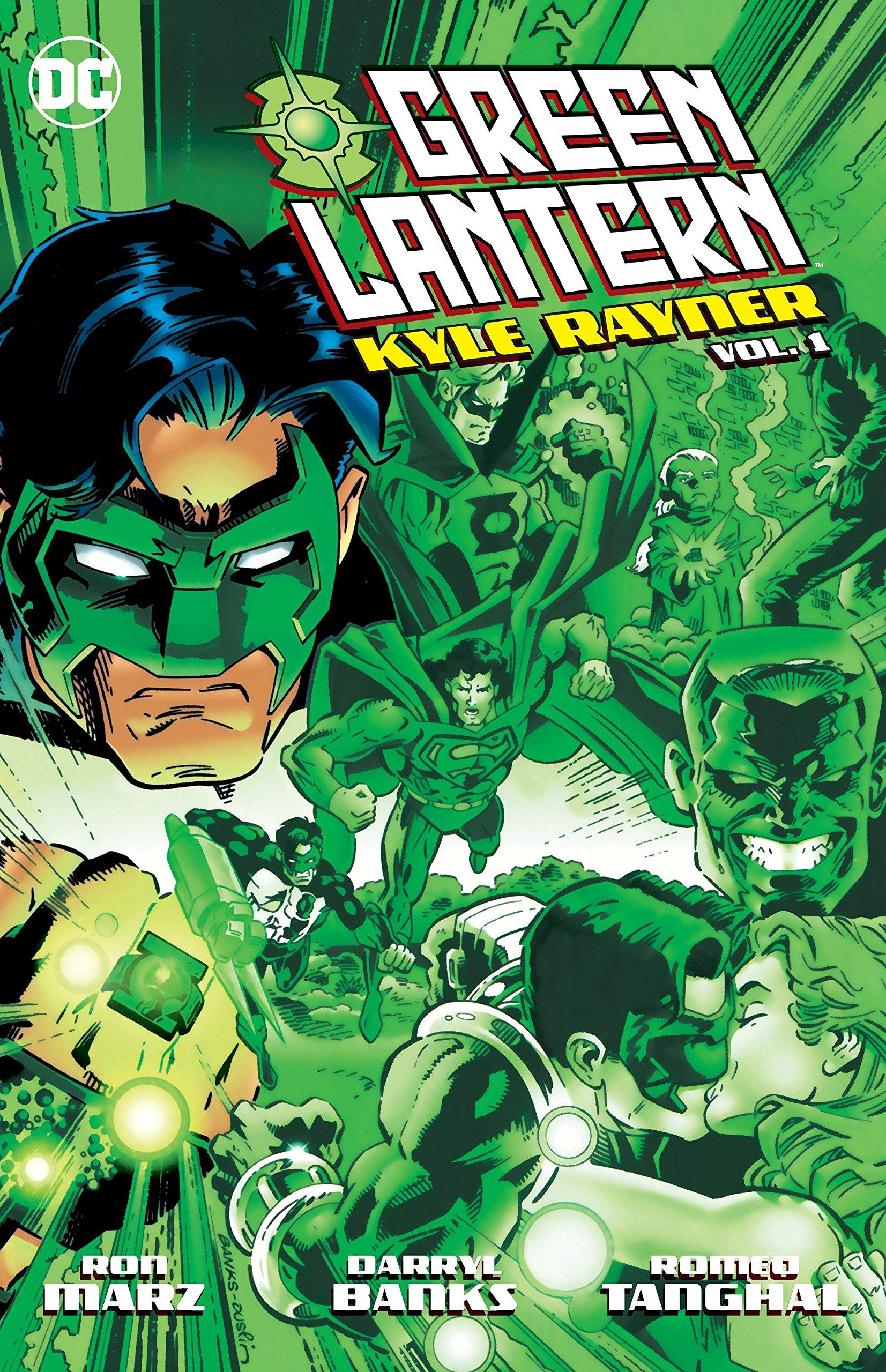Green Lantern: Kyle Rayner Vol. 1: Amazon.es: Marz, Ron ...