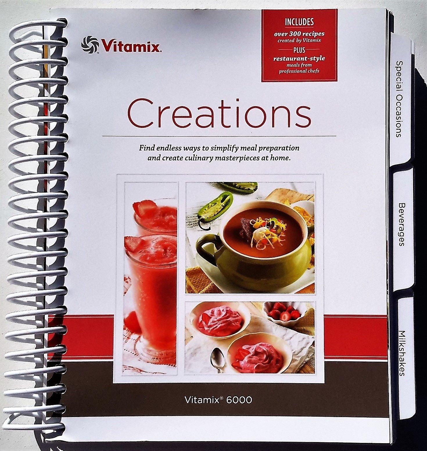 vitamix creations recipes amazon com books