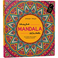 Mandala Art: Colouring Books for Adults with Tear Out Sheets (Adult Colouring Book) [Paperback] Wonder House Books…