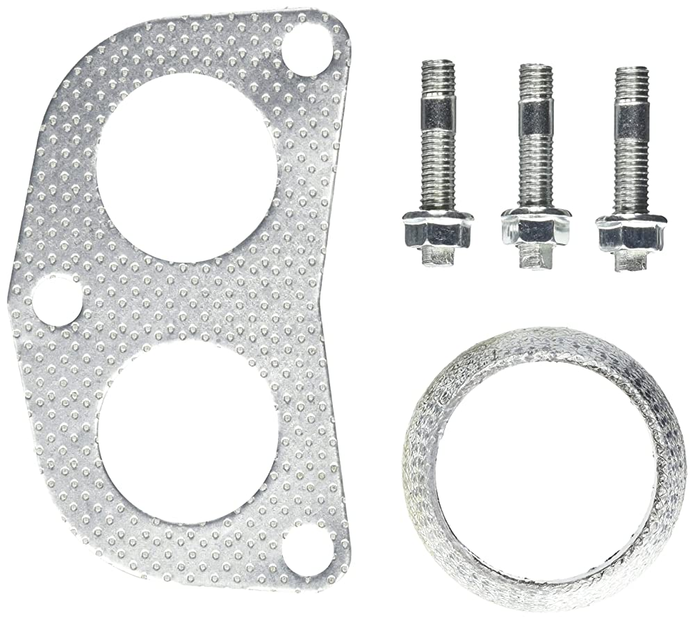 Spec-D Tuning HH2-G-CV92EX-DK Civic Sohc D15 D16 Graphite Aluminum 4-2-1 Header Down Pipe Gasket Flange