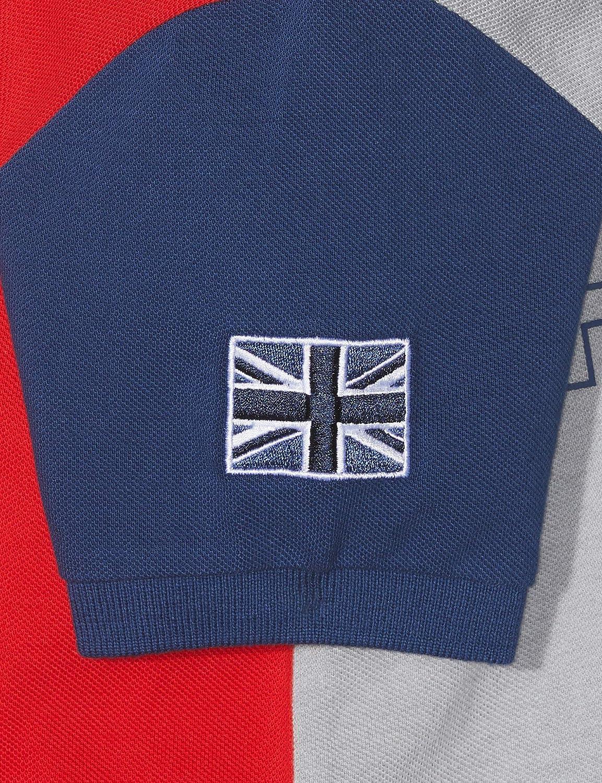 Hackett London Boys Aston Martin Racing Multi Ss Polo Shirt