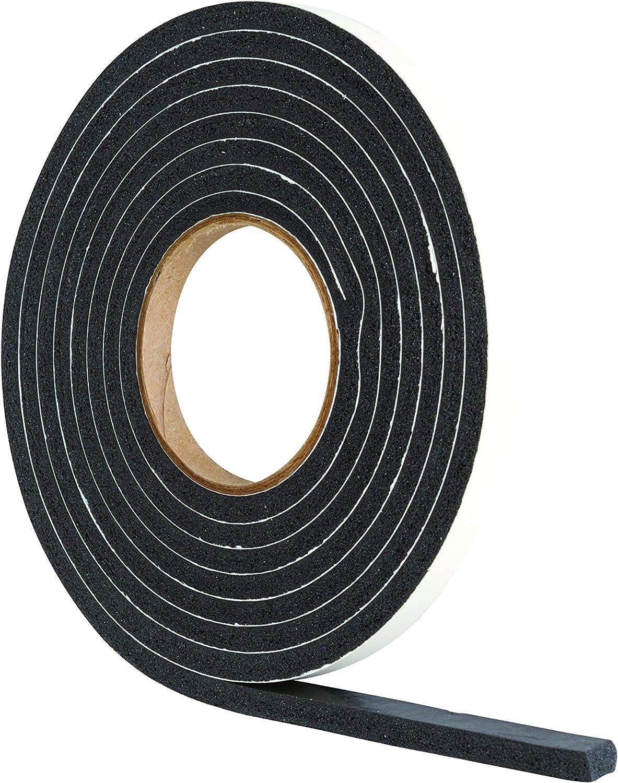 Home Door Window Foam Tape Strip Seal Noise Insulation Excluder Tape Roll O3