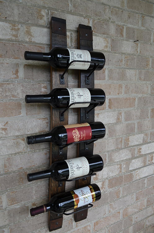 Whiskey Barrel Wine Rack