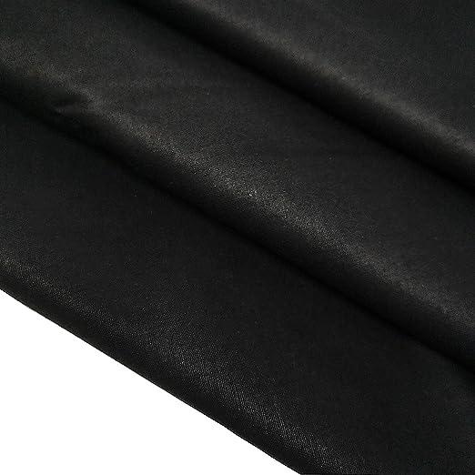 ZAIONE Tela de algodón 100 % liso, tela de sarga, tela de sarga, acolchada, camisa, costura, patchwork, manualidades, 160 cm de ancho por metro ...