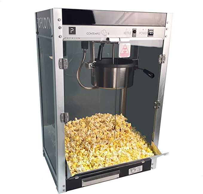 Paragon Contempo Pop 8 Ounce Popcorn Machine For Professional Concessionaires Requiring Commercial Quality High Output Popcorn Equipment Sports Outdoors