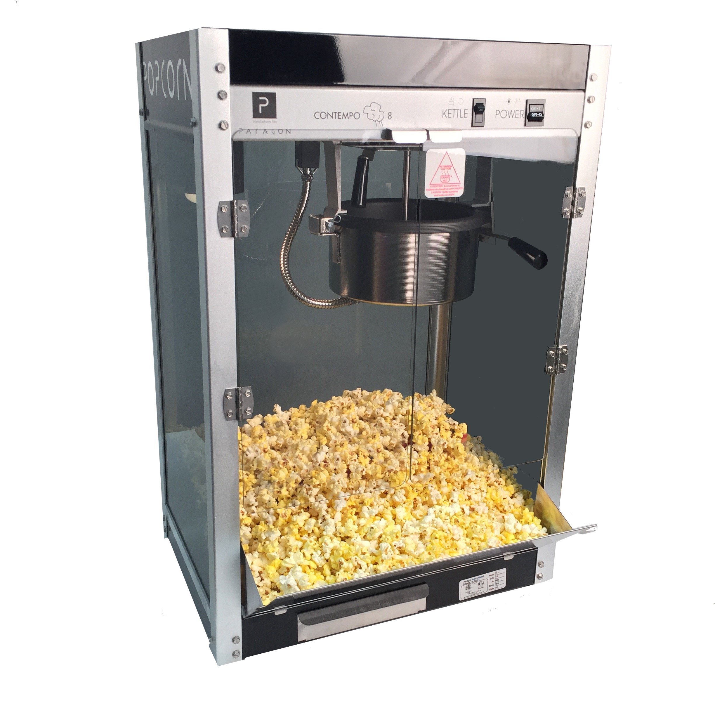 Paragon Contempo Pop 8 Ounce Popcorn Machine for Professional Concessionaires Requiring Commercial Quality High Output Popcorn Equipment by Paragon - Manufactured Fun