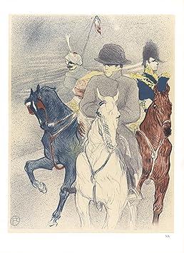fbdbc19edc0 1966 Henri de Toulouse-Lautrec Napoléon Mourlot lithographie  Amazon ...