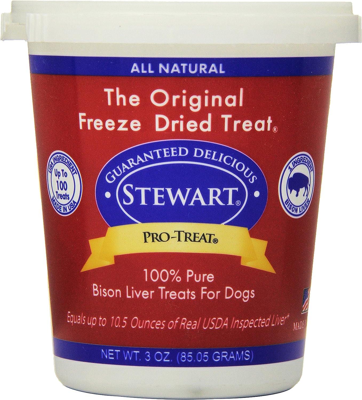 Stewart Pro-Treat, Freeze Dried Dog Treats, Grain Free, USA Made