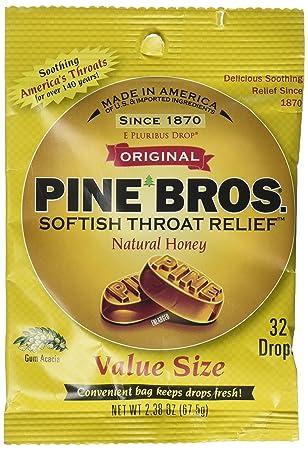 Amazon.com: Pino Bros. softish Garganta gotas tamaño de ...