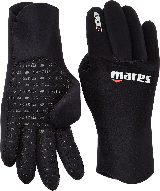 Guantes de Buceo Unisex Color Negro Mares Flexa Touch 2 mm