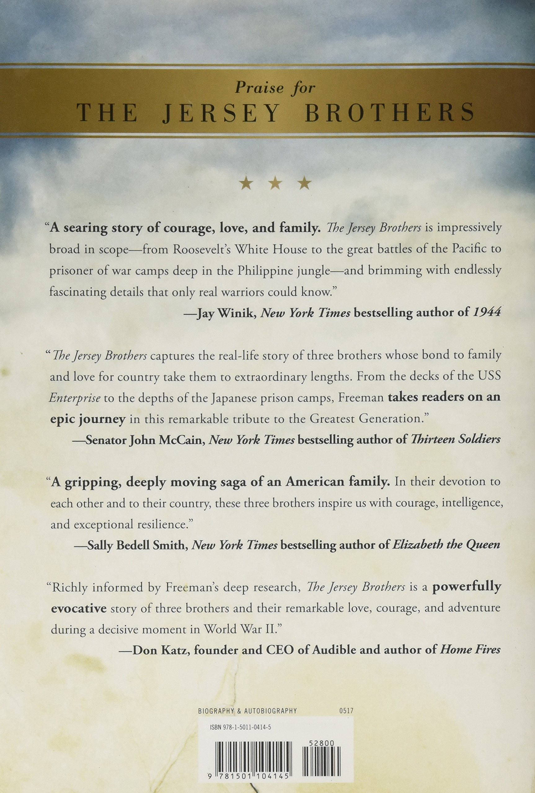 the jersey brothers a missing naval officer in the pacific and his familys quest to bring him home