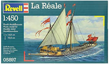 Revell La Reale 1:450 Sailing boat Assembly kit - maquetas ...