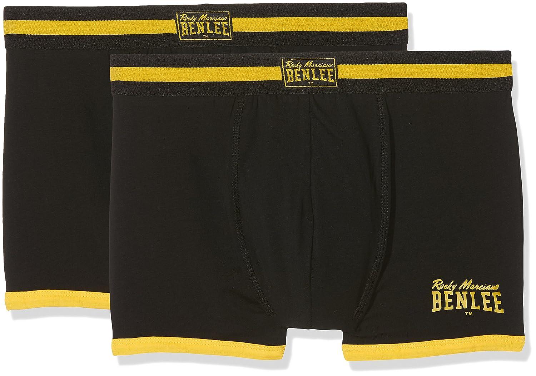 TALLA S. BENLEE Rocky Marciano Hombre Montello Boxer Pantalones Cortos