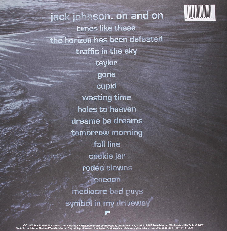 Jack johnson on and on vinyl amazon music biocorpaavc Images