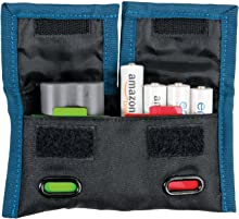 Rogue Photographic Design v2 Indicator Battery Pouch, Black/Rogue Blue, Compact
