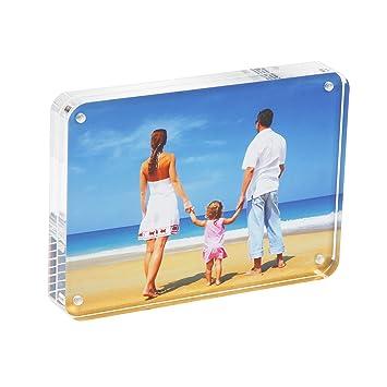 Amazoncom Niubee Clear Acrylic Photo Frame Gift Box Package