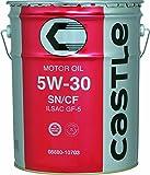 TOYOTA エンジンオイル キヤッスル SN/CF 5W30 鉱物油 20L