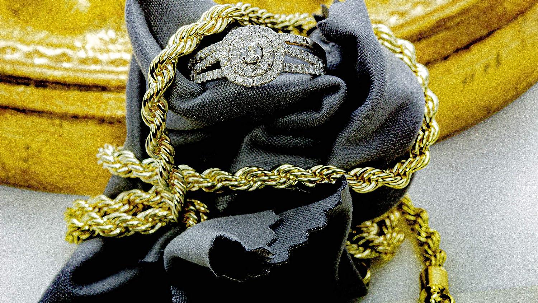 1-2 CTW Cushion Double Halo Round Natural Diamond Engagement Ring & Wedding Band Set in 10K White Gold
