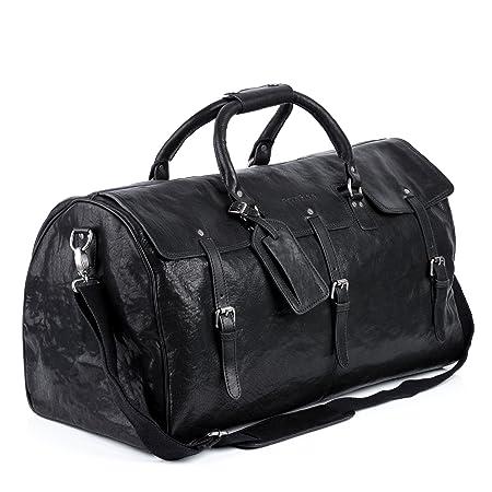 FEYNSINN real leather travel bag holdall