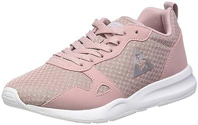 basket le coq sportif femme rose