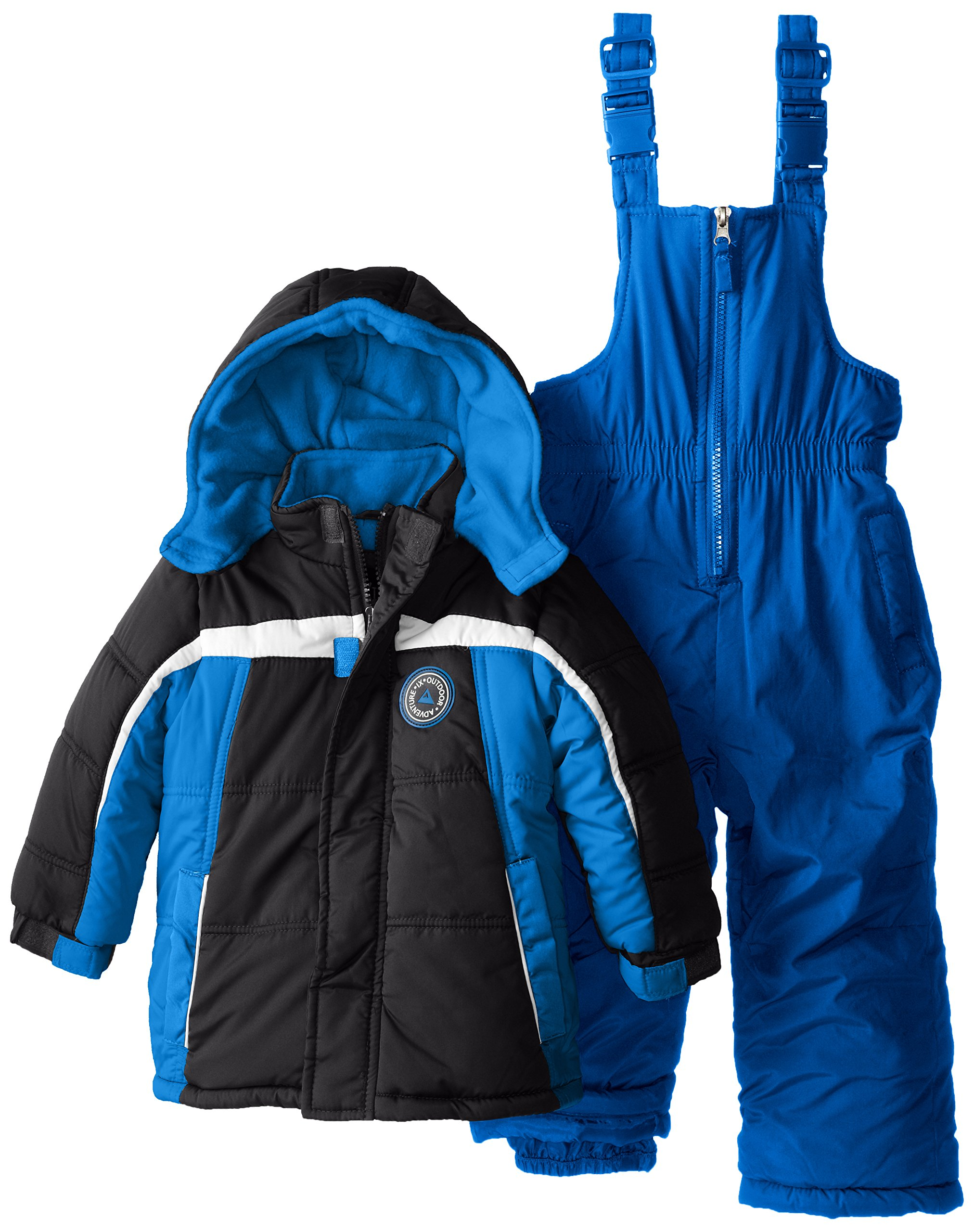 iXtreme Little Boys' Colorblock Snowsuit, Royal, 4T