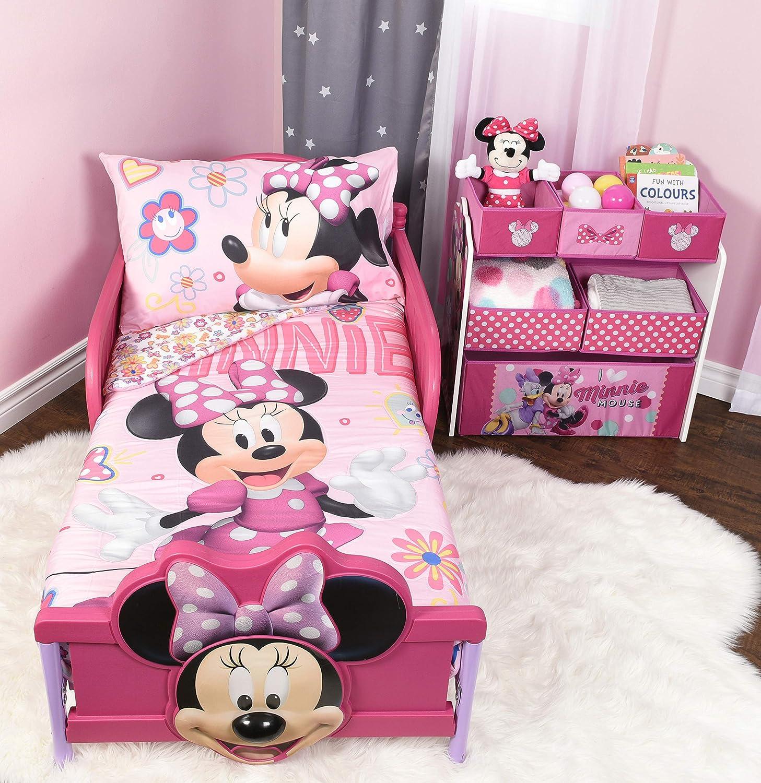 Disney 778267184442 Minnie Mouse 3-Piece Toddler Bedding Set