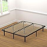 Handy Living Wood Slat Bed Frame Queen