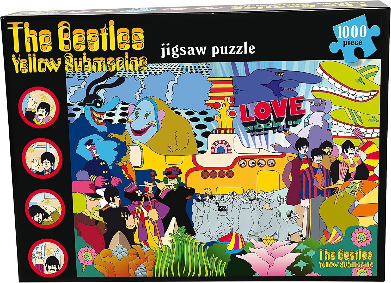 YELLOW SUBMARINE 1000 piece Jigsaw Puzzle, The Beatles