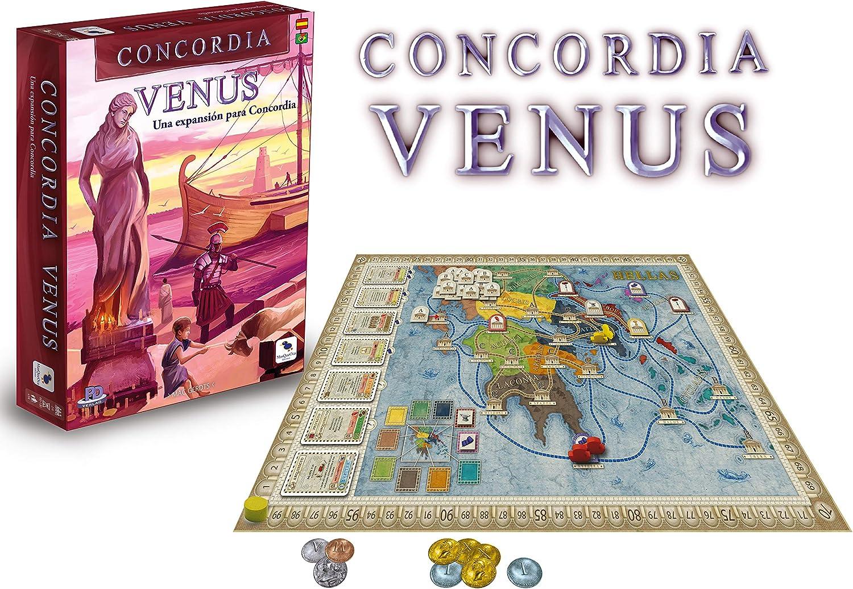 Ediciones MasQueoca - Concordia Expansion Venus (Español)(Portugués): Amazon.es: Juguetes y juegos