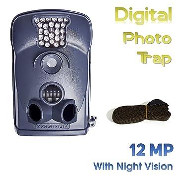 Maginon WK2 HD - Cámara para fotografiar naturaleza, con visión nocturna digital, 12MP con