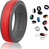 UROKAZ Silicone Fashion Rings, The Only Ring that Fits Your Lifestyles - Whether You are Single or Married, Ring is Right for You - It is Fashionable, Flexible, and Comfortable